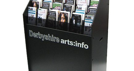 literature and leaflet dispenser