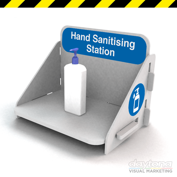 Counter Top Hand Sanitiser Station