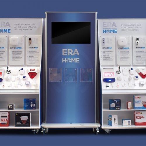 ERA custom display units dibond acrylic