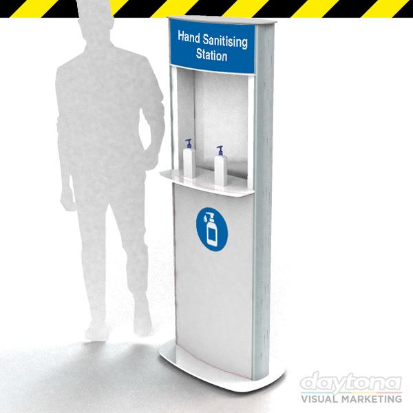 Premium Hand Sanitising Station