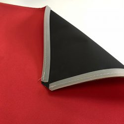 black backed blockout tension fabric