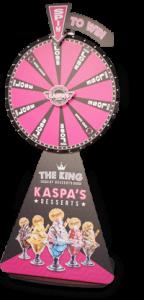 Branding pack for wheel of fortune