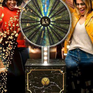 custom Illuminated wheel of fortune