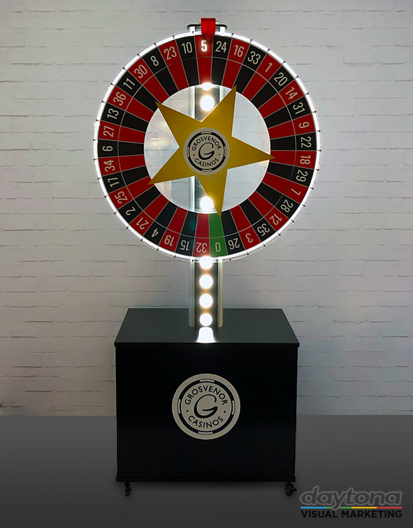 illuminated wheel of fortune