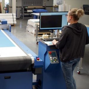 large format digital finishing