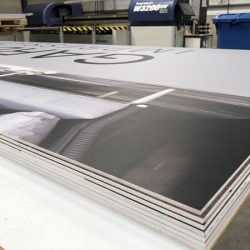 Large format Foamex printing