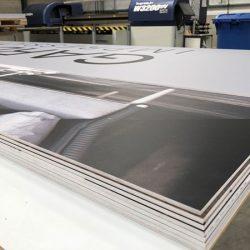 Large format Foamex printing