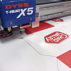 Point of sale POS digital cutting tables